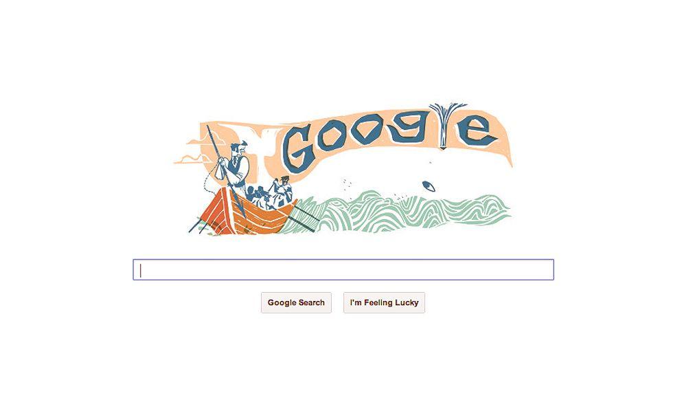Moby Dick, Google Doodle del 18 ottobre