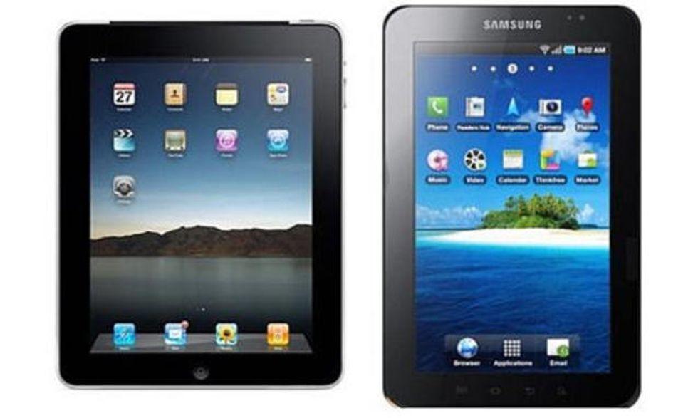 iPad contro Galaxy Tab: rettifica di Apple sul sito britannico