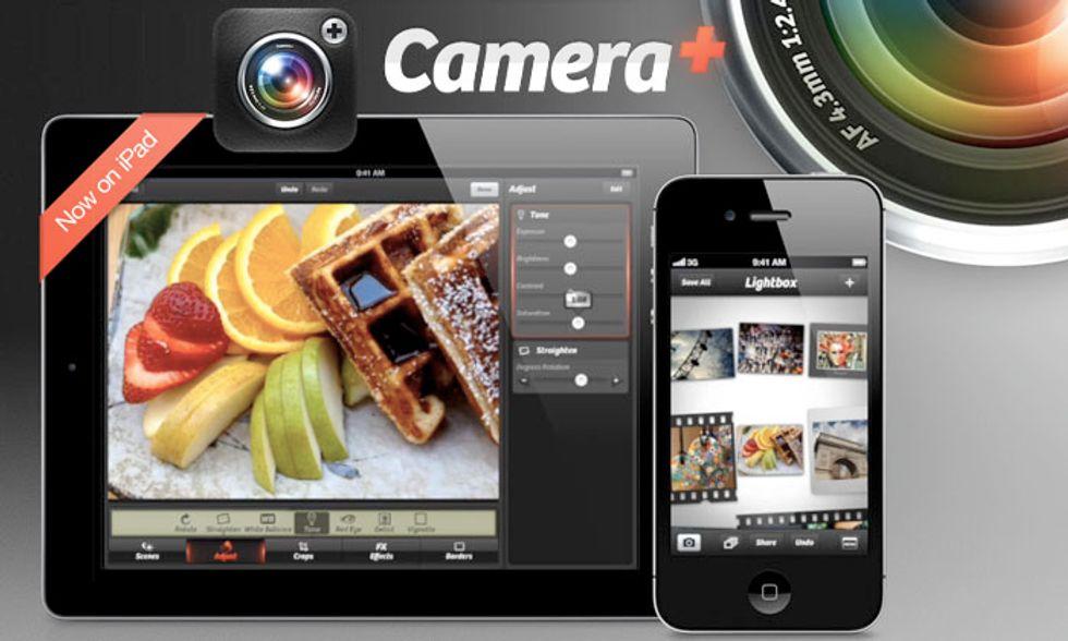 Le migliori applicazioni per iPad: Camera+ for iPad