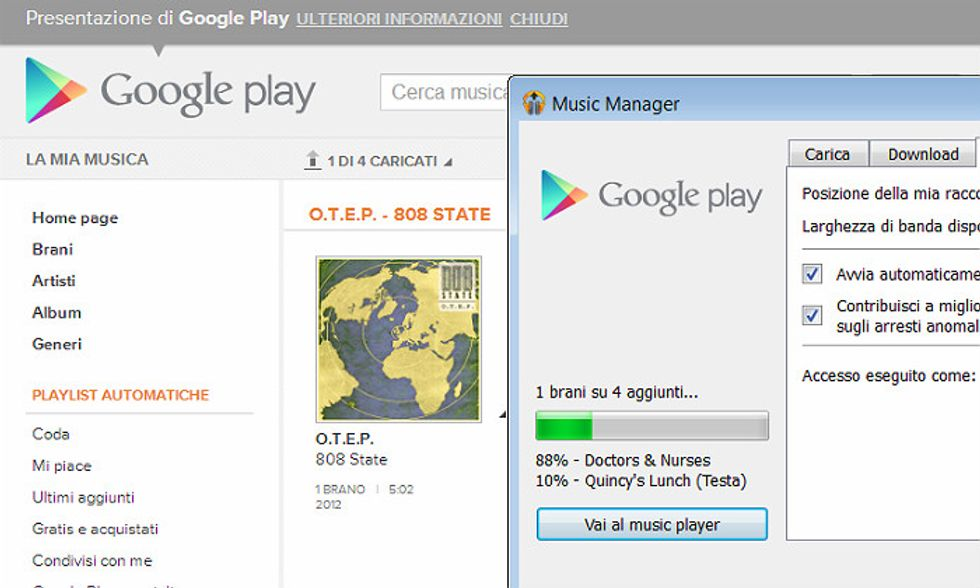 Google Play, anche in Italia la musica di Mountain View