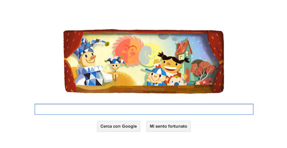 Google: un doodle per la Giornata dell'Infanzia