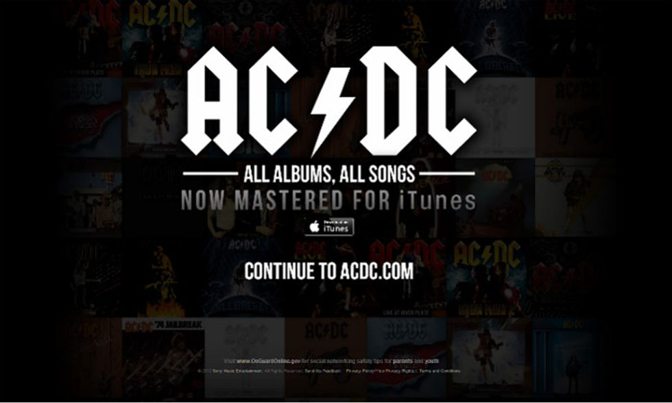 iTunes, arrivano anche gli AC/DC