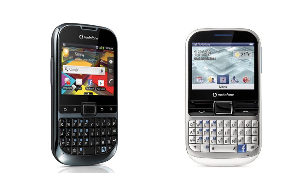 Vodafone Smart Chat e Smart Tab 2: doppia coppia di smartphone e tablet a prezzi modici