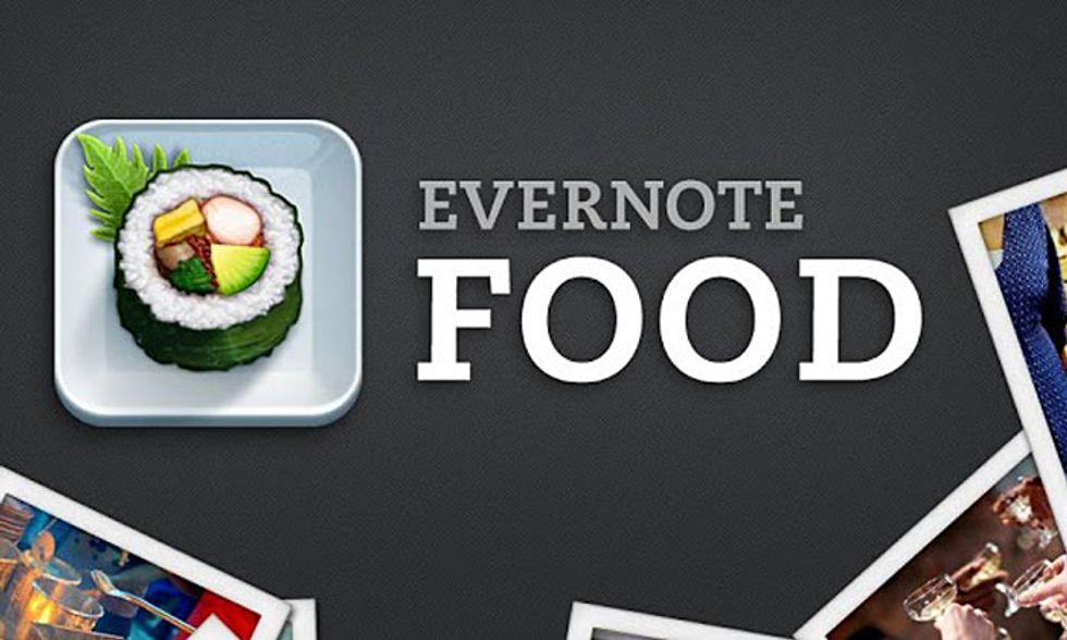 Le migliori applicazioni per Android: Evernote Food