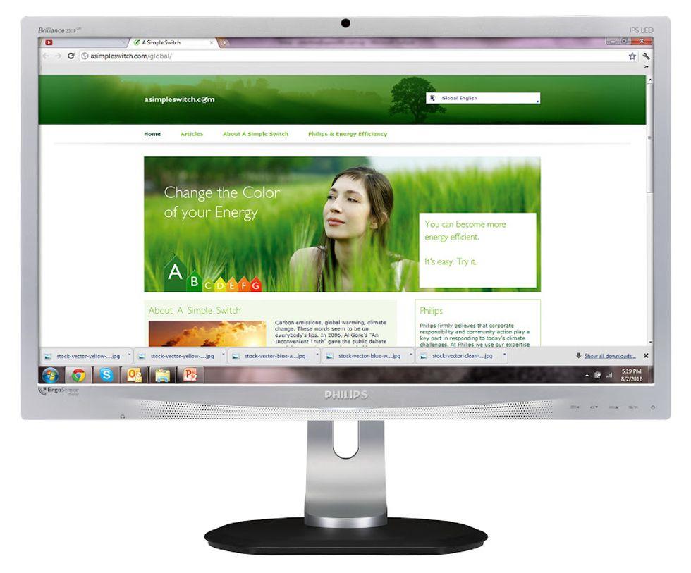 Philips ErgoSensor, il monitor che ha a cuore la nostra salute