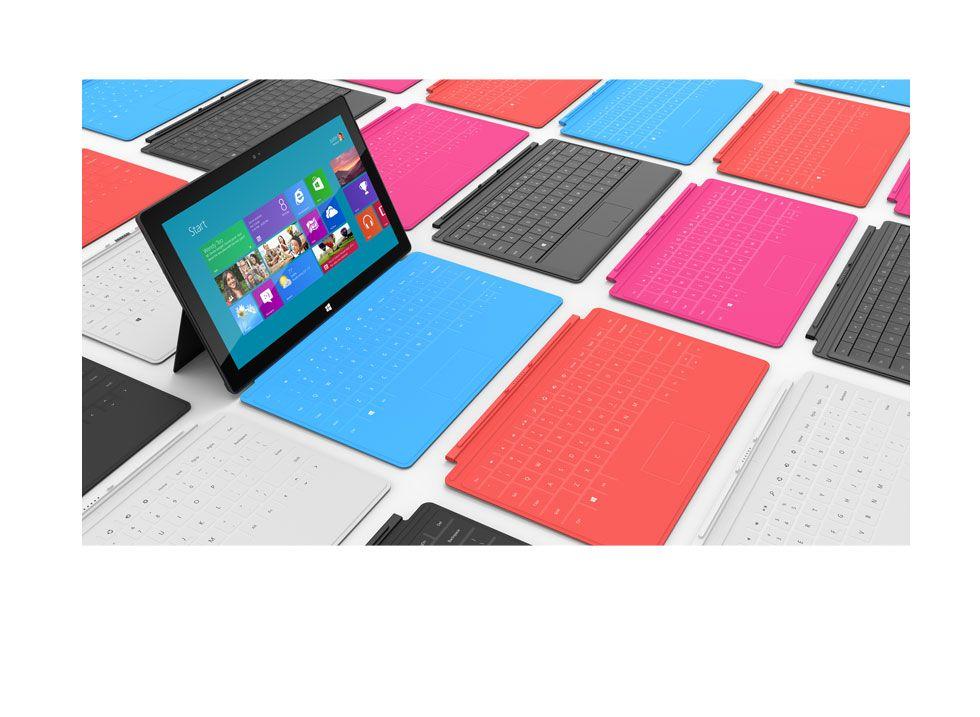 Surface, vendite modeste. Colpa di Windows RT?