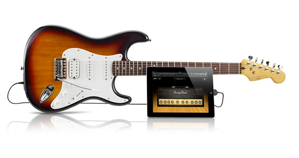 Fender Stratocaster Squier USB, la chitarra che si attacca all'iPad