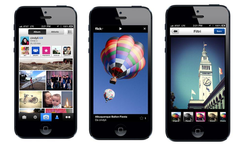 Flickr per iPhone? Ora è meglio di Instagram