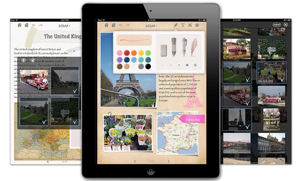 Le migliori app per iPad: Scrapnote
