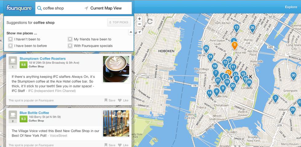 Mappe: Apple ora ha bisogno di Foursquare per battere Google (e Facebook)