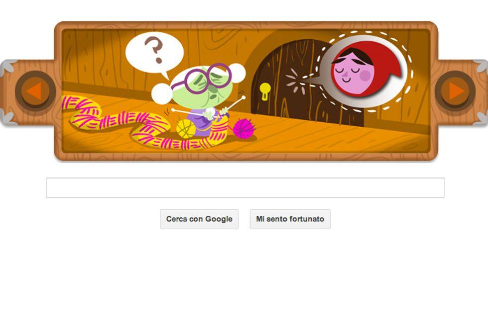 Google Doodle per i fratelli Grimm