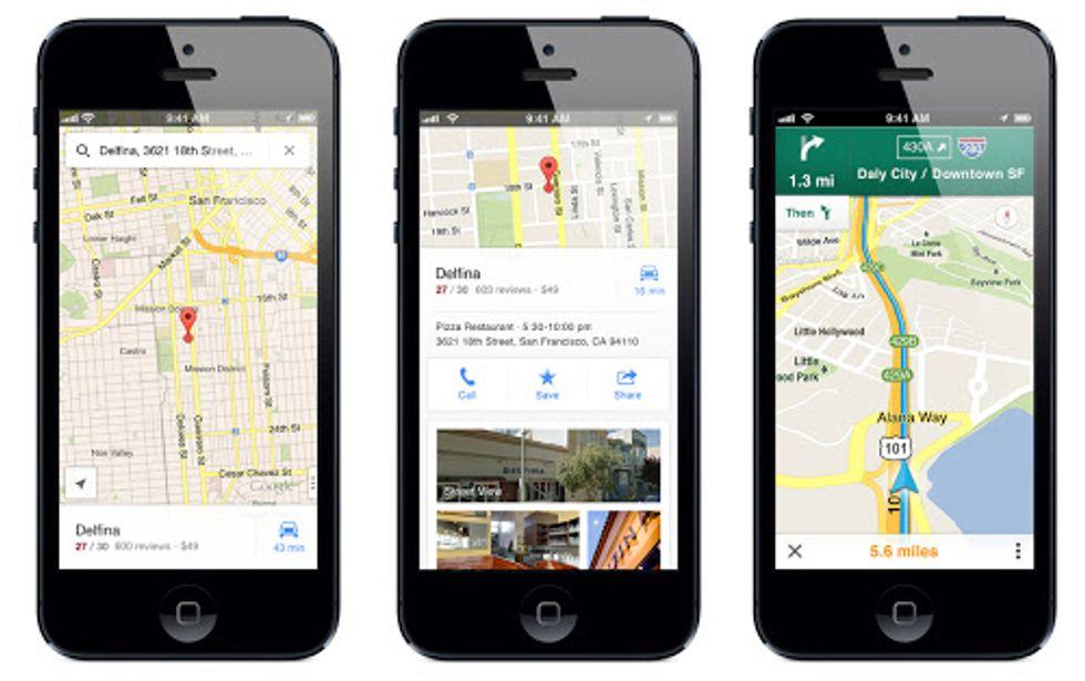 Google Maps torna su iPhone (e c'è pure il navigatore)