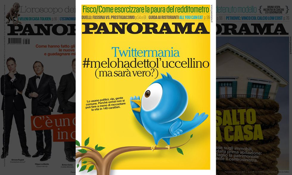 Twittermania, #melohadettol'uccellino (ma sarà vero?)