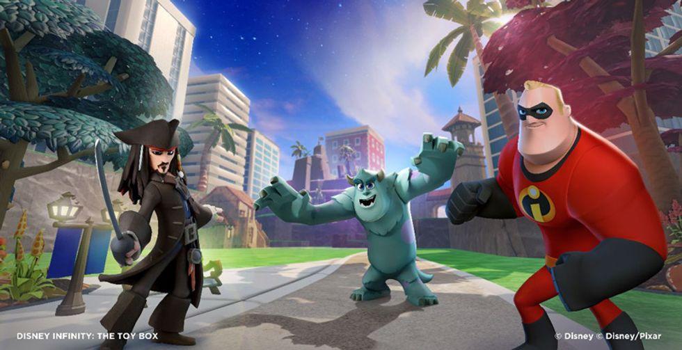 Disney Infinity, il videogioco-giocattolo - Trailer
