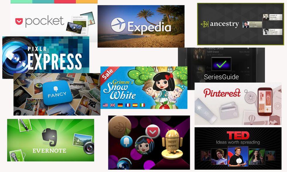 Google: ecco le migliori app Android del 2012