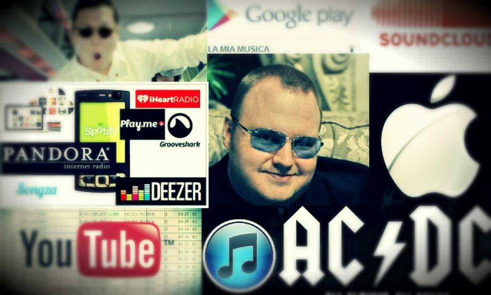 Musica online: i 12 eventi del 2012