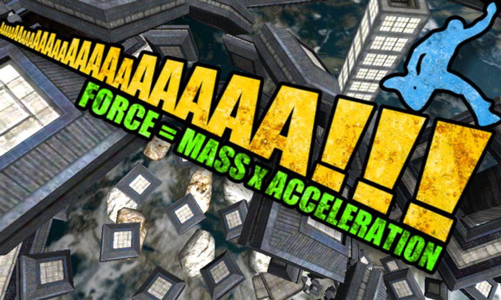 Le migliori applicazioni per iPad: AaaaaAAaaaAAA!!! (Force = Mass x Acceleration)