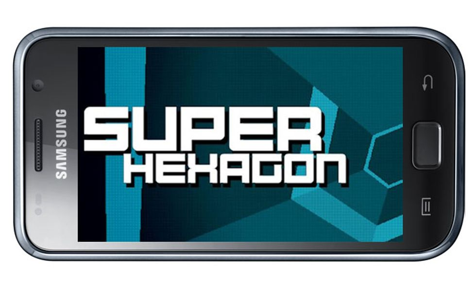 Le migliori applicazioni per Android: Super Hexagon