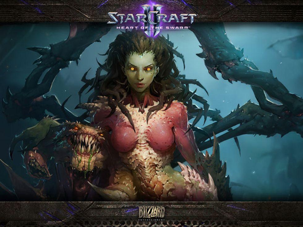 StarCraft II: Heart of the Swarm, il video d'apertura