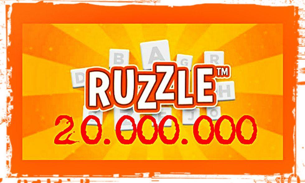 Ruzzle, superati i 20 milioni di download