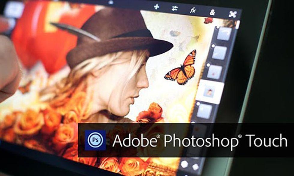 Le migliori app per Android: Adobe Photoshop Touch