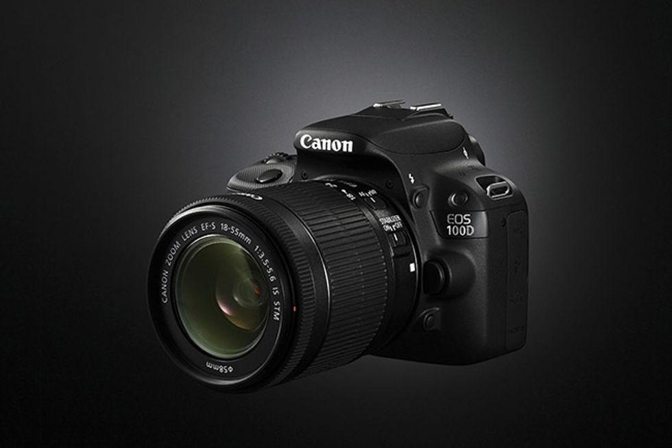 Canon Eos 100D, le immagini