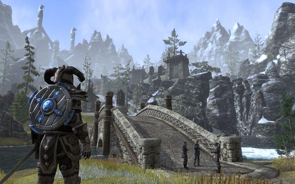 """The Elder Scrolls Online, il video """"rubato"""" che svela il gioco"""