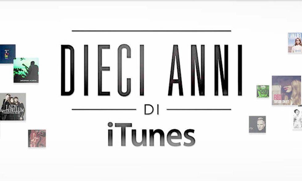 iTunes Store ha 10 anni, Apple festeggia