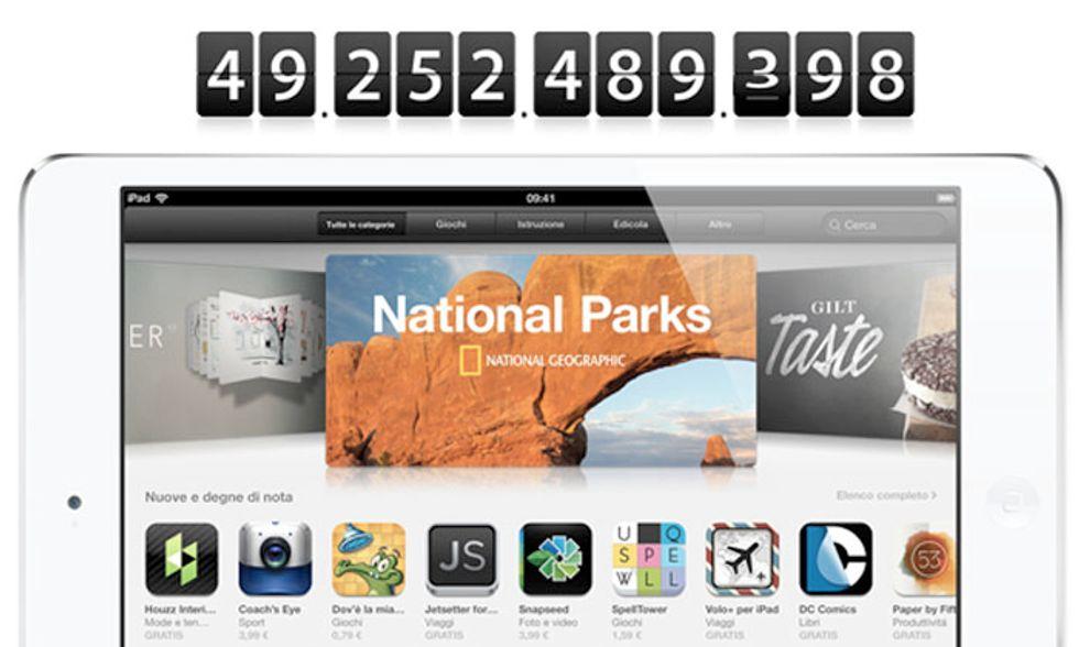 Apple prossima a 50 miliardi di download: ecco chi vende di più sull'App Store