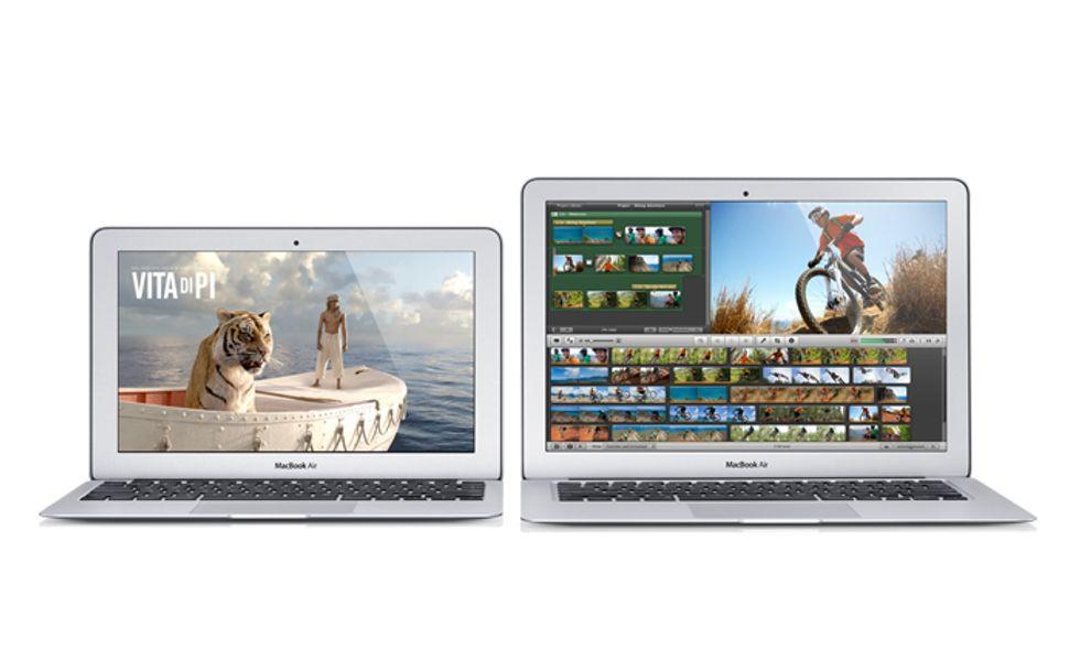 Il nuovo MacBook Air, le immagini