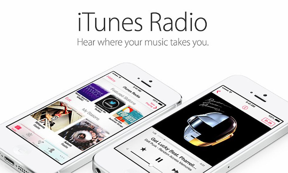 iTunes Radio: sfida a Pandora, Spotify & co.