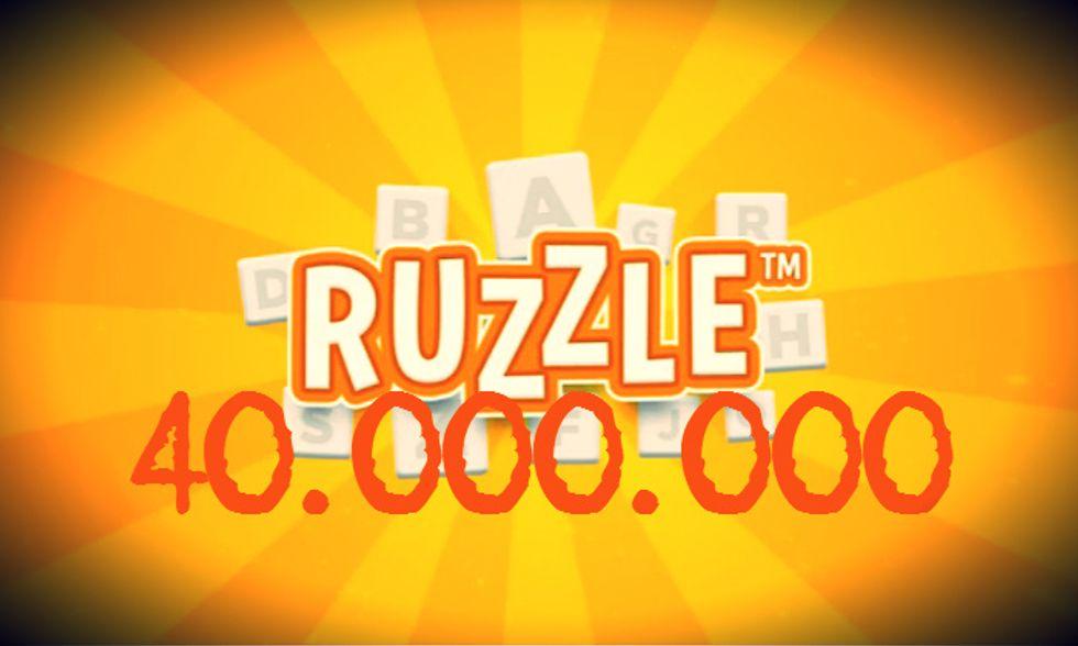 Ruzzle: lo giocano in 40 milioni