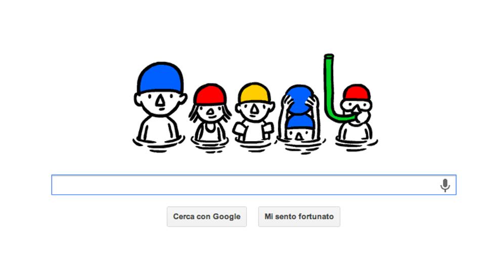 "Google: un Doodle ""acquatico"" per l'estate"