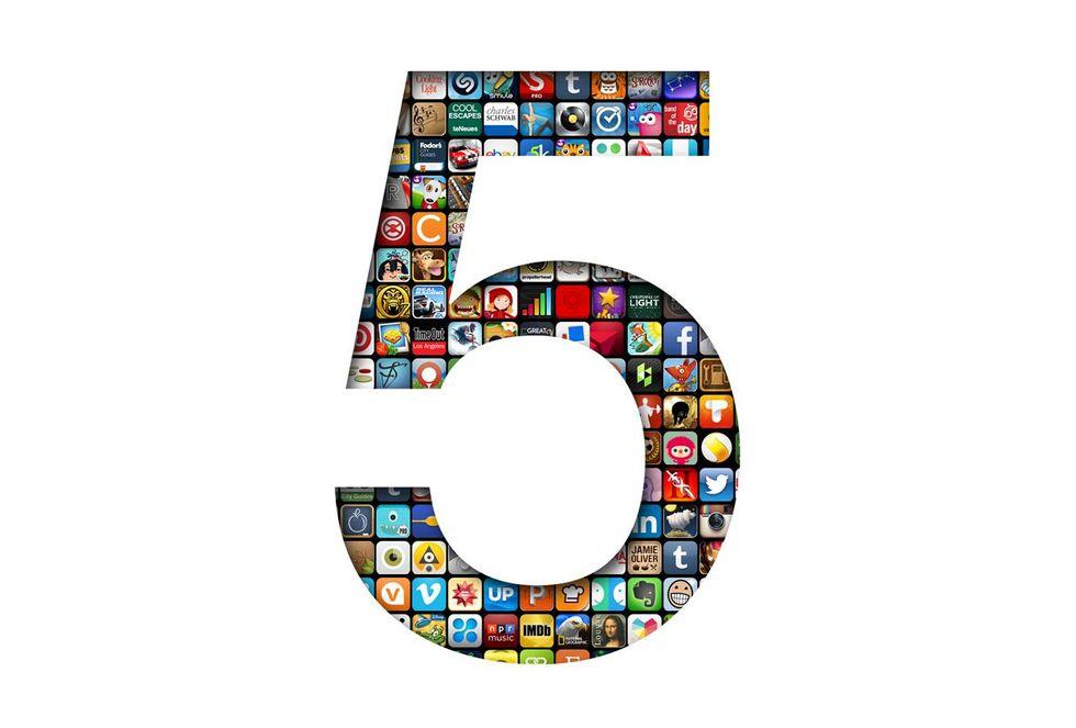 Apple, 10 app in regalo per festeggiare i 5 anni di App Store