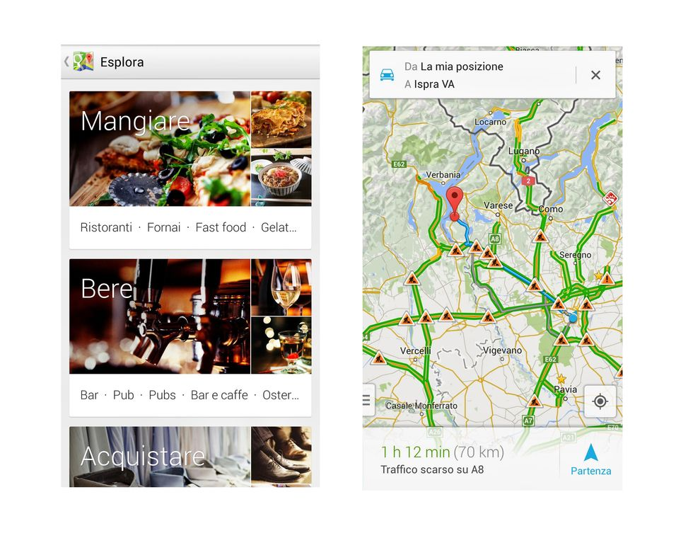 Google Maps, come cambia l'app per smartphone e tablet