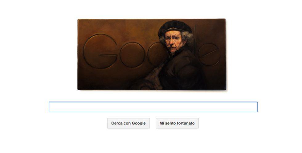 Google, un Doodle per Rembrandt van Rijn