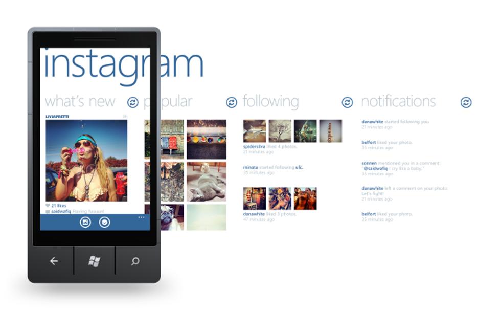 Instagram arriverà su Windows Phone (non subito però)