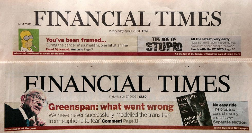 Buon compleanno Financial Times