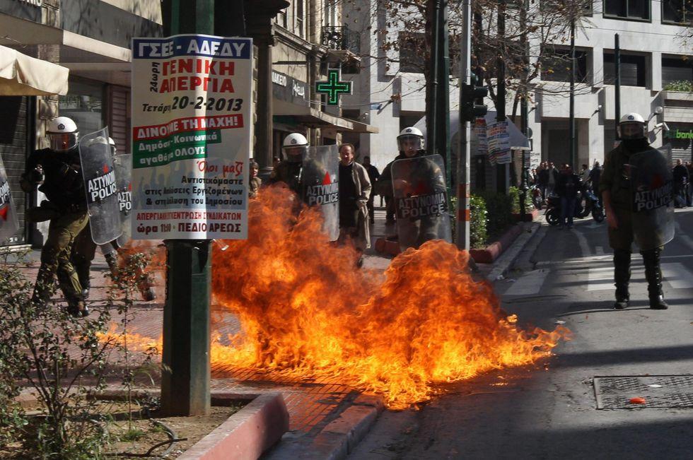 Se la Grecia esce dall'euro: le conseguenze