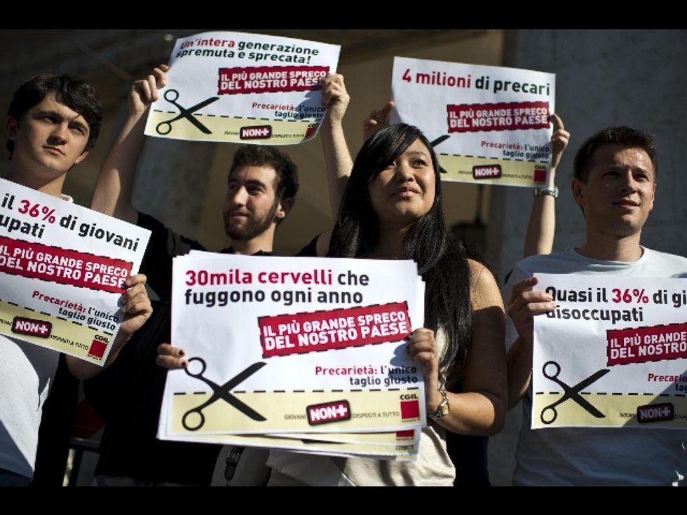Crisi, nel lavoro è l'Italia la più colpita