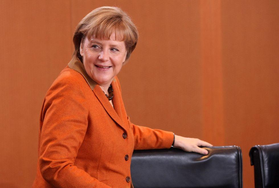 La Merkel e il dibattito su chi è più ricco in Europa