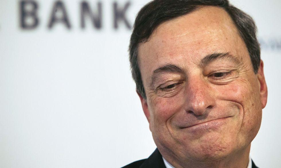 Draghi prepara il terreno per il suo bazooka del 2015