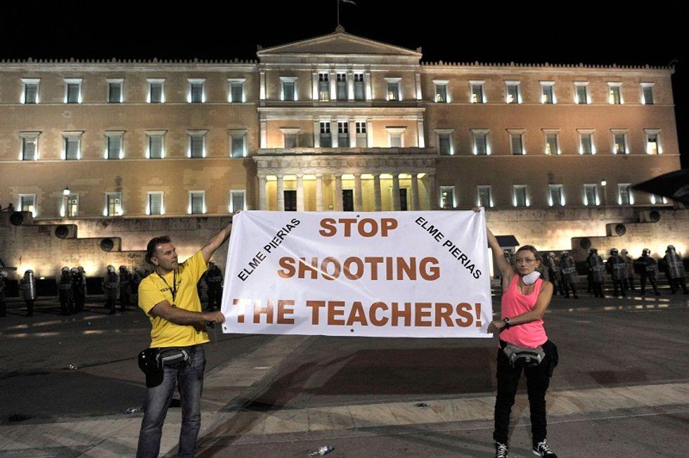 Grecia, 25mila licenziamenti per coprire il fallimento delle privatizzazioni