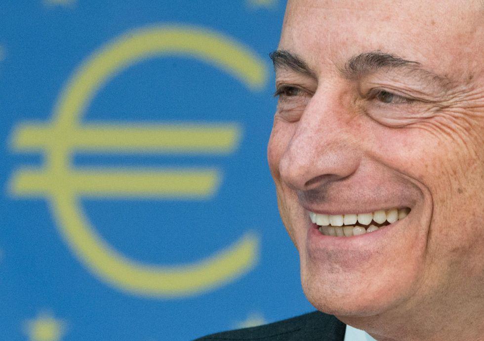 La Bce e le previsioni di Mario Draghi