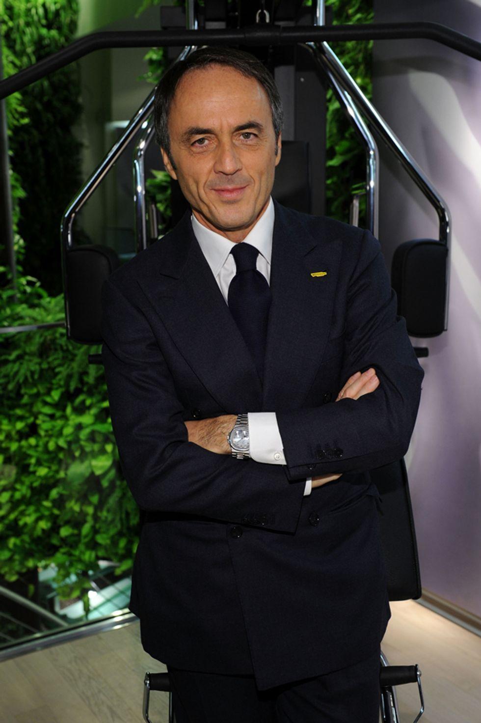 """Nerio Alessandri: """"Ragazzi, andate all'estero ma per poco. Il futuro è qui in Italia"""""""