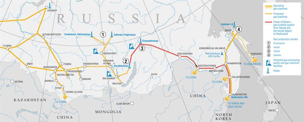 Gas, perché l'intesa Cina - Russia è di portata storica