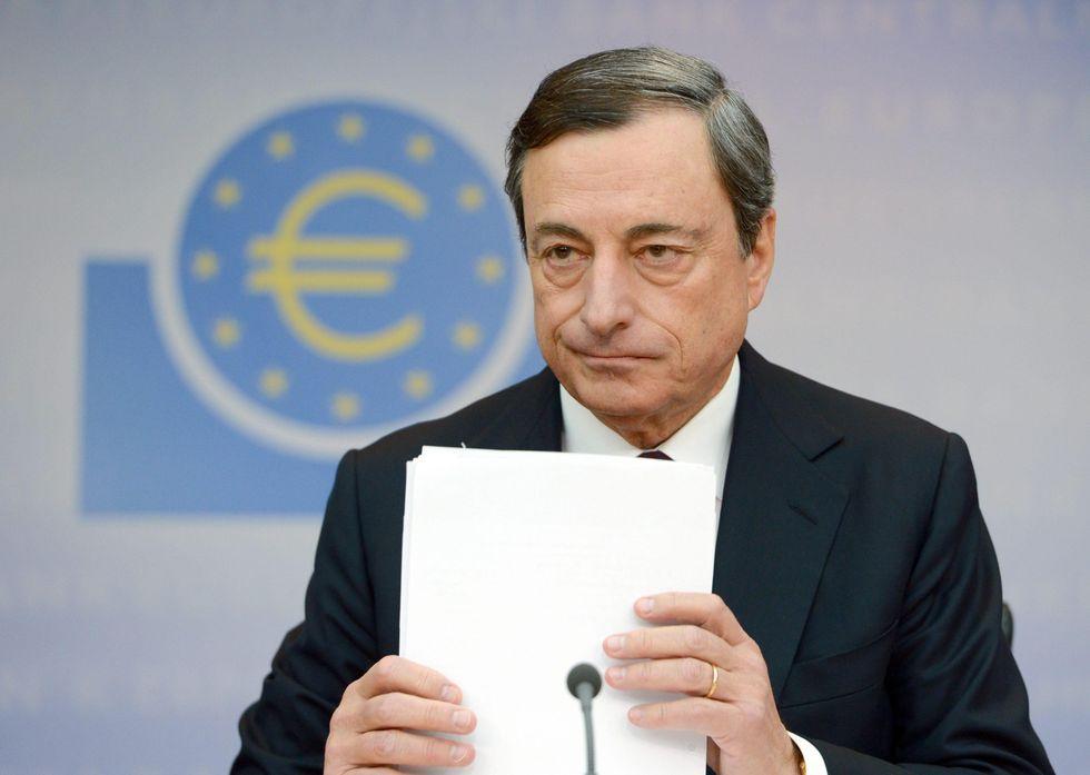 Mario Draghi e l'ottobre caldo dell'Europa