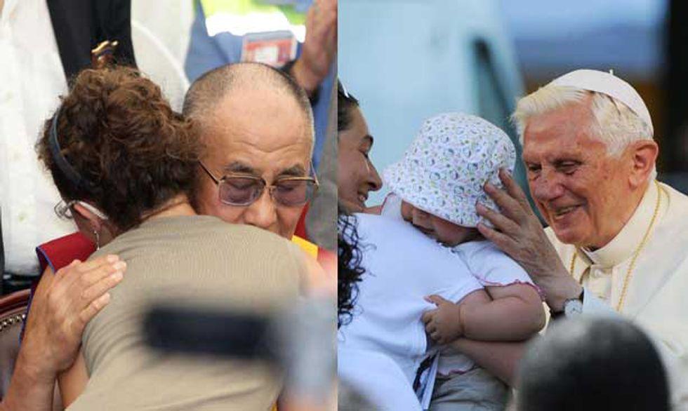 Papa e Dalai Lama. 5 immagini simbolo per raccontare la visita in Emilia