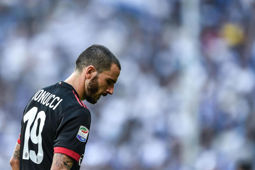 sampdoria milan 2-0 bonucci errori critiche