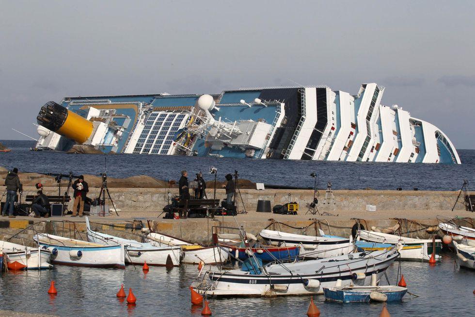 Costa Concordia: la scatola nera in avaria